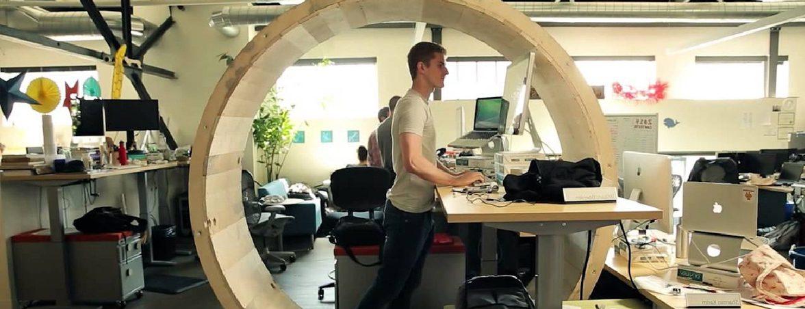 Mesas de oficina dinámicas rueda | Muebles de oficina Spacio