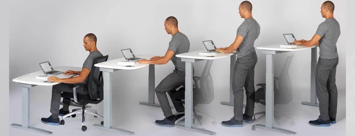 Mesas de oficina dinámicas | Muebles de oficina Spacio