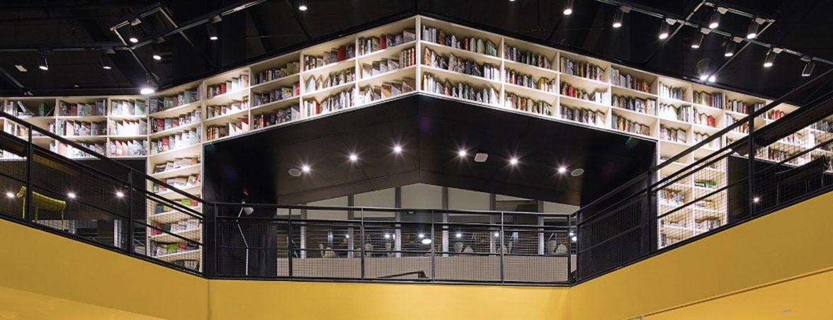 Mobiliario biblioteca planta segunda | Muebles de oficina Spacio