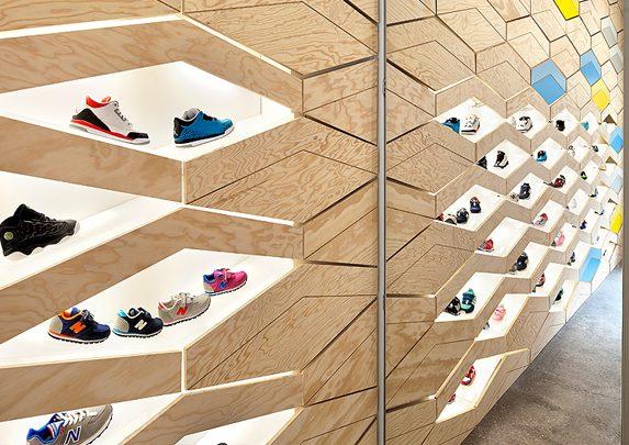 Mobiliario comercial madera | Muebles de oficina Spacio