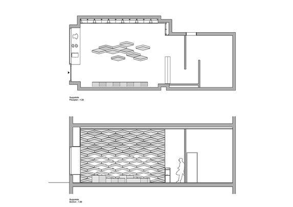 Mobiliario comercial plano | Muebles de oficina Spacio