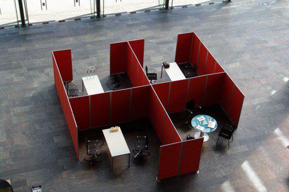 Mobiliario de oficina biombos | Muebles de oficina Spacio