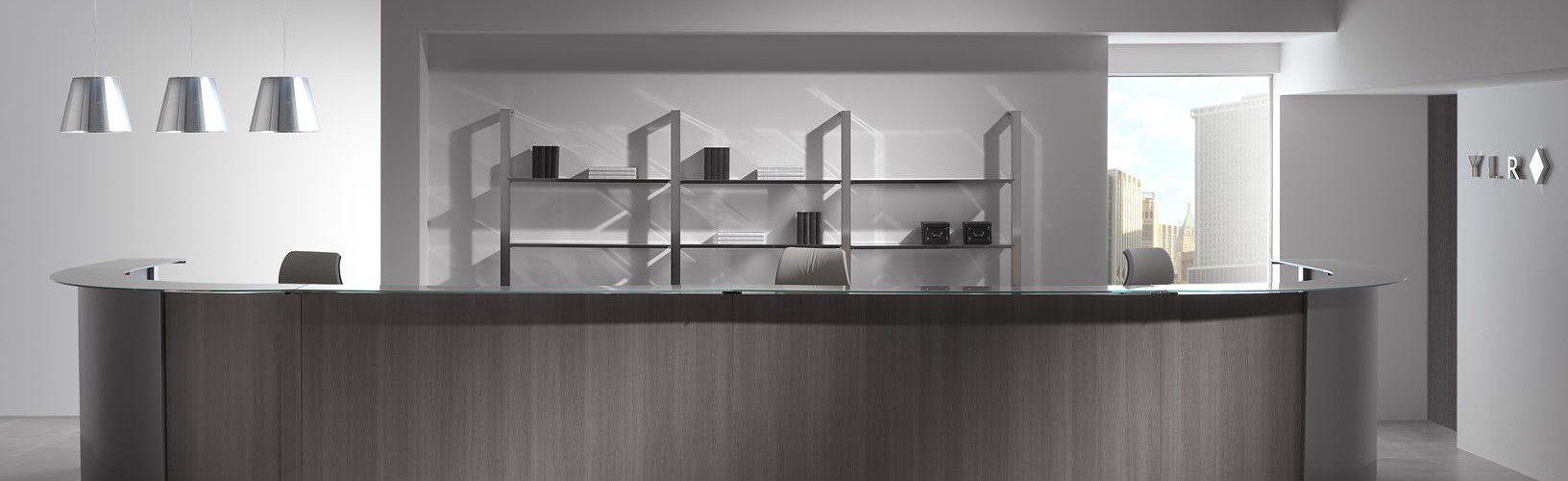 Mobiliario de oficina mostrador | Muebles de oficina Spacio