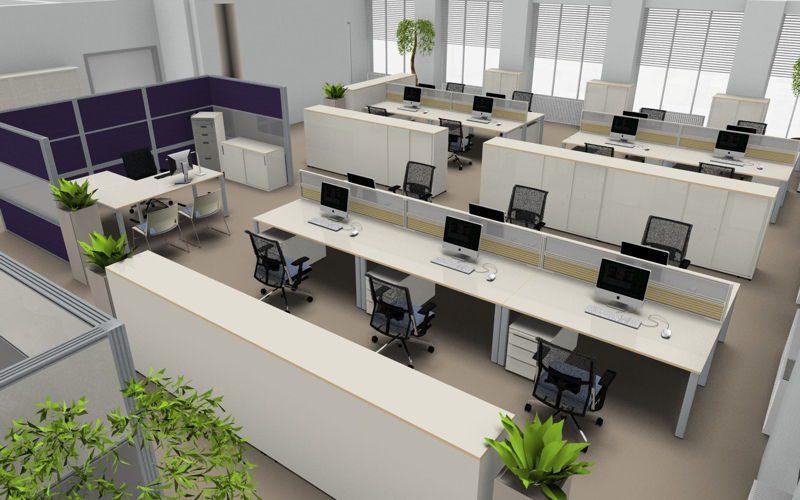 Mobiliario de oficina proyecto | Muebles de oficina Spacio