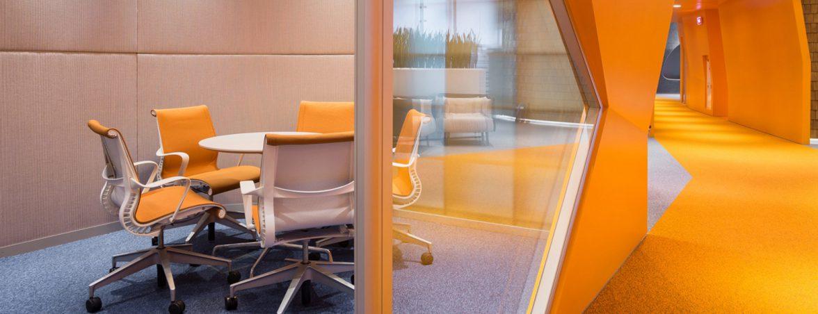Muebles para colectividades zona naranja | Muebles de oficina Spacio