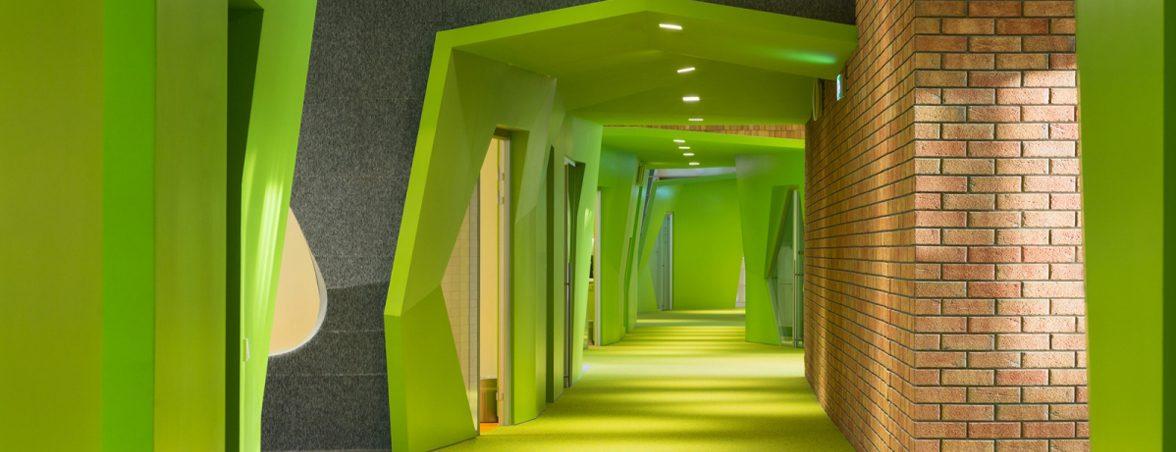Muebles para colectividades zona verde | Muebles de oficina Spacio