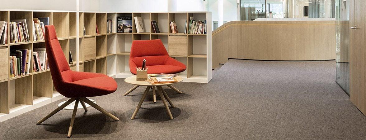 Oficina con mamparas silla Dunas | Muebles de oficina Spacio