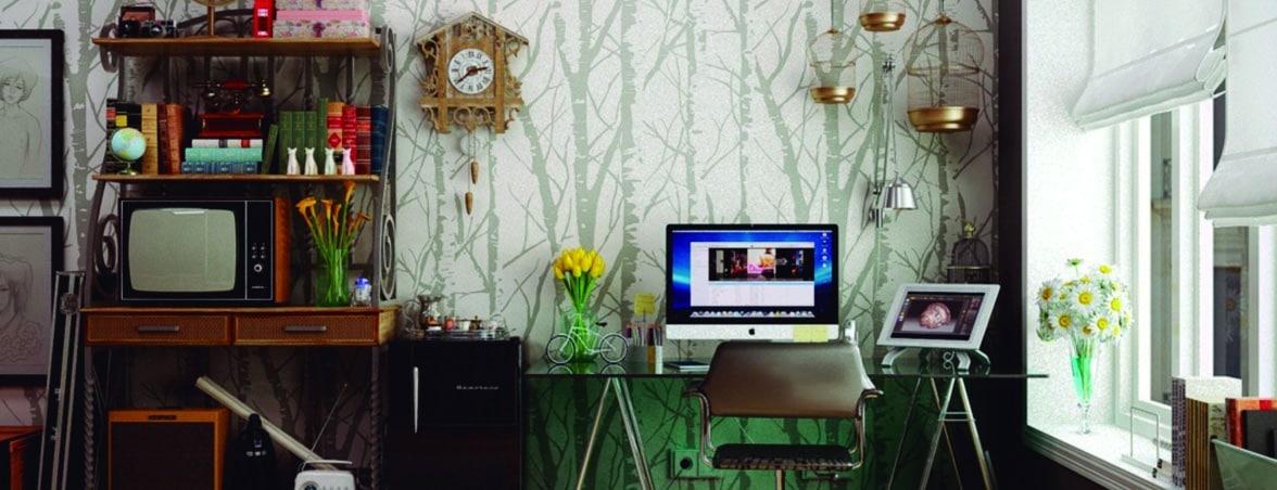 Oficina en casa decoración | Muebles de oficina Spacio
