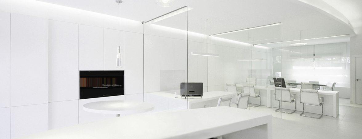 Oficinas caja de luz despacho | Muebles de oficina Spacio