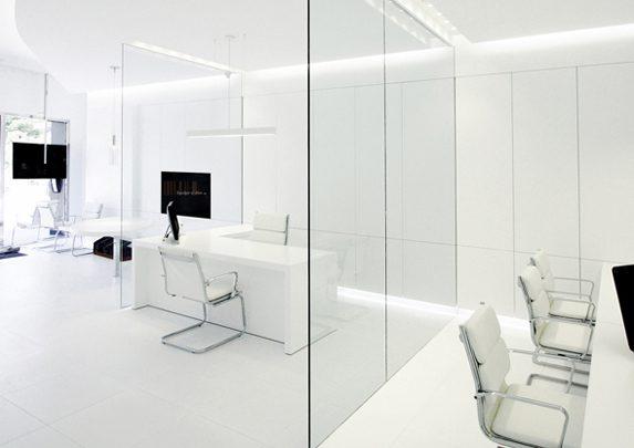Oficinas caja de luz mesas sillas | Muebles de oficina Spacio