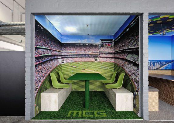 Oficinas con alma ambiente estadio | Muebles de oficina Spacio