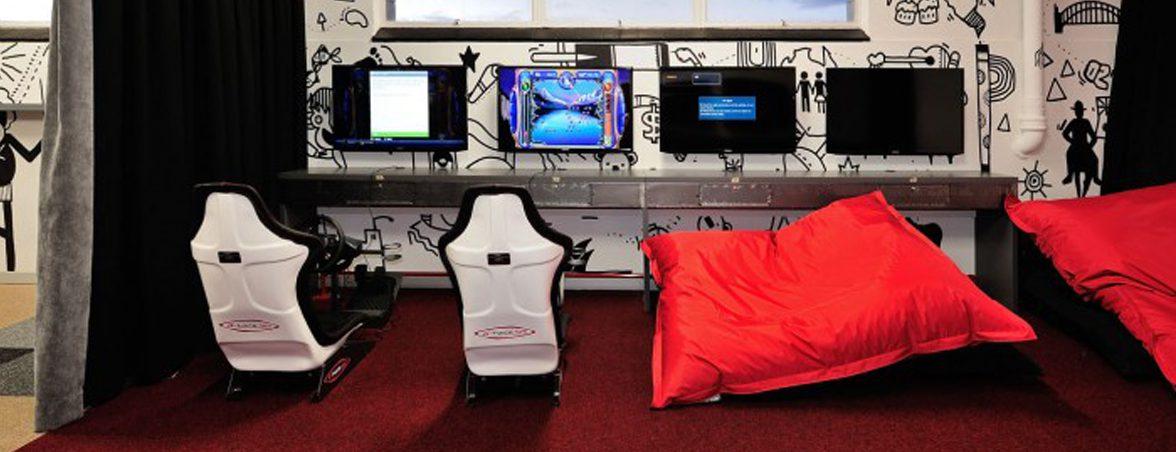 Oficinas con alma sala juegos | Muebles de oficina Spacio
