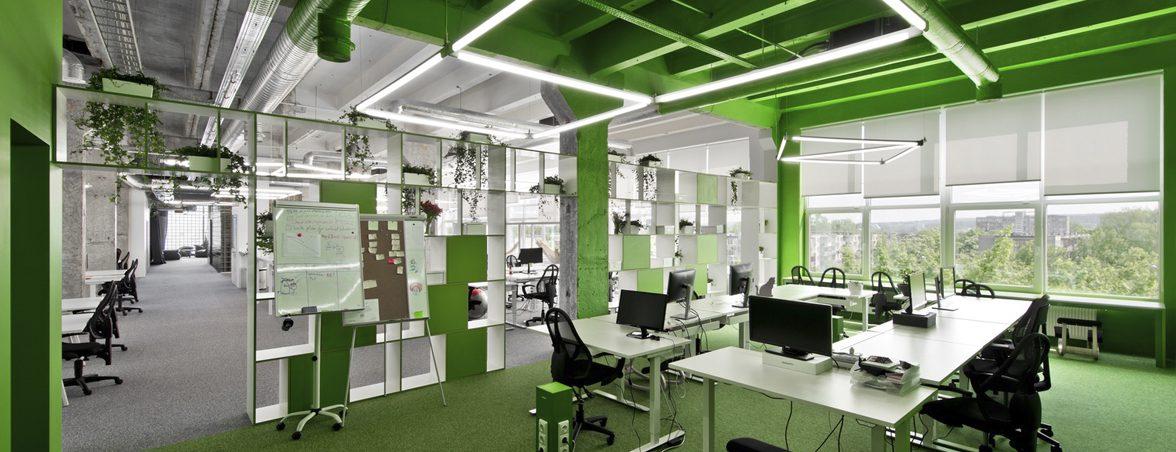 Oficinas de diseño verde | Muebles de oficina Spacio