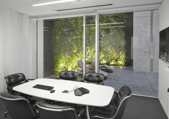 Oficinas modernas patios | Muebles de oficina Spacio