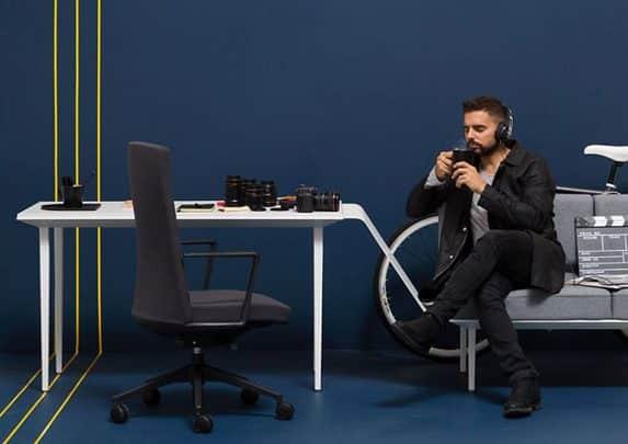 Orgatec producto Longo Cron | Muebles de oficina Spacio