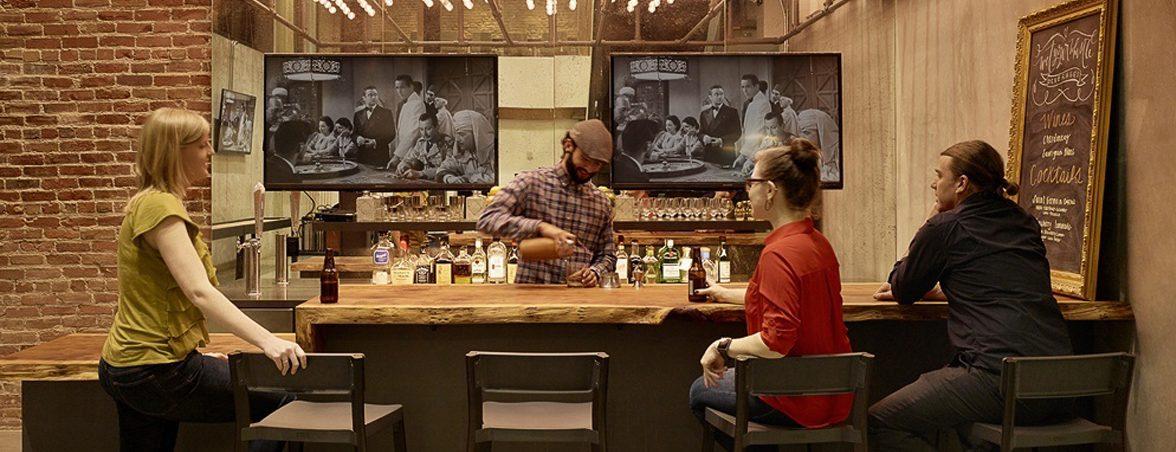 Sala de reuniones bar Webbly | Muebles de oficina Spacio