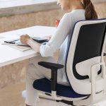 Silla para oficina Trim marco blanco   Muebles de oficina Spacio