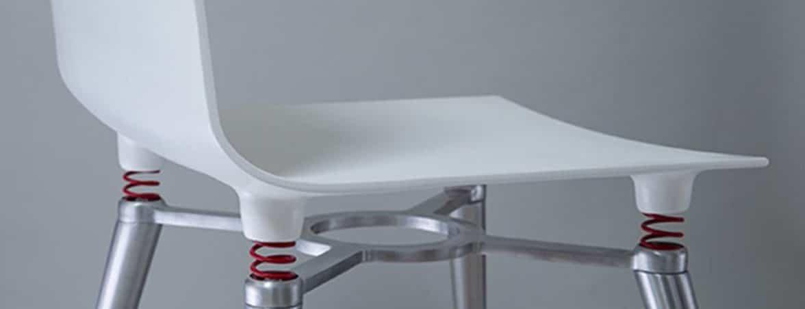 Sillas con amortiguador perfil | Muebles de oficina Spacio