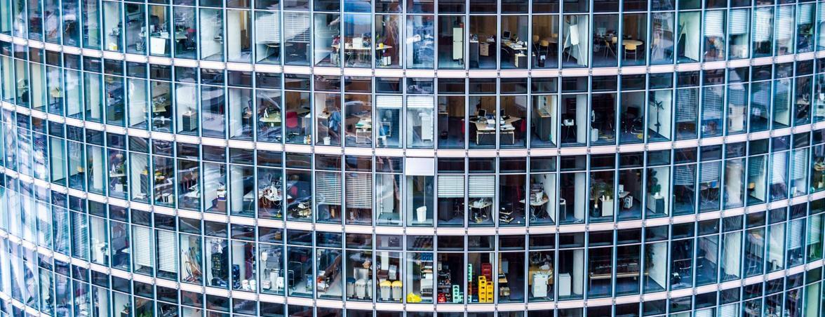 Síndrome de la oficina enferma edificio | Muebles de oficina Spacio