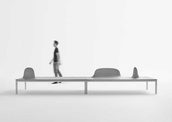 Bancadas de oficina ambientado | Muebles de oficina Spacio