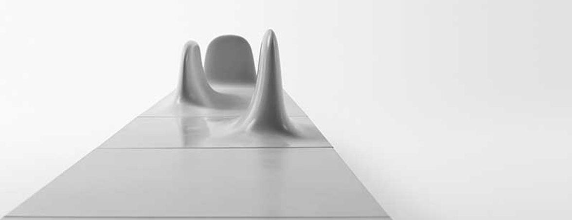 Bancadas de oficina profundidad | Muebles de oficina Spacio