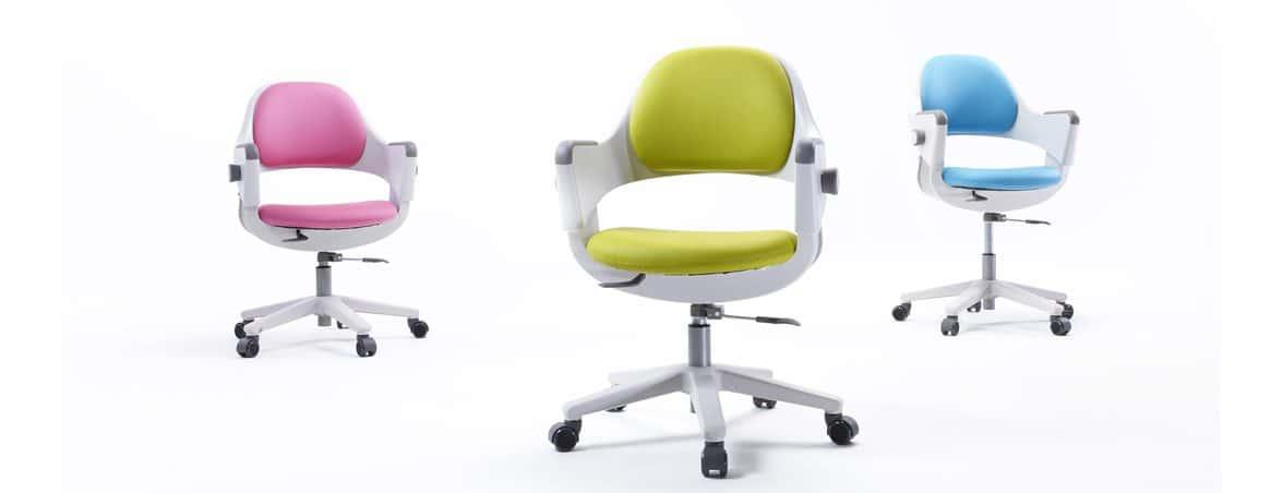 Conoce silla infantil Ringo tres colores | Muebles de oficina Spacio