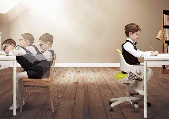Conoce silla infantil Ringo vs tradicional | Muebles de oficina Spacio