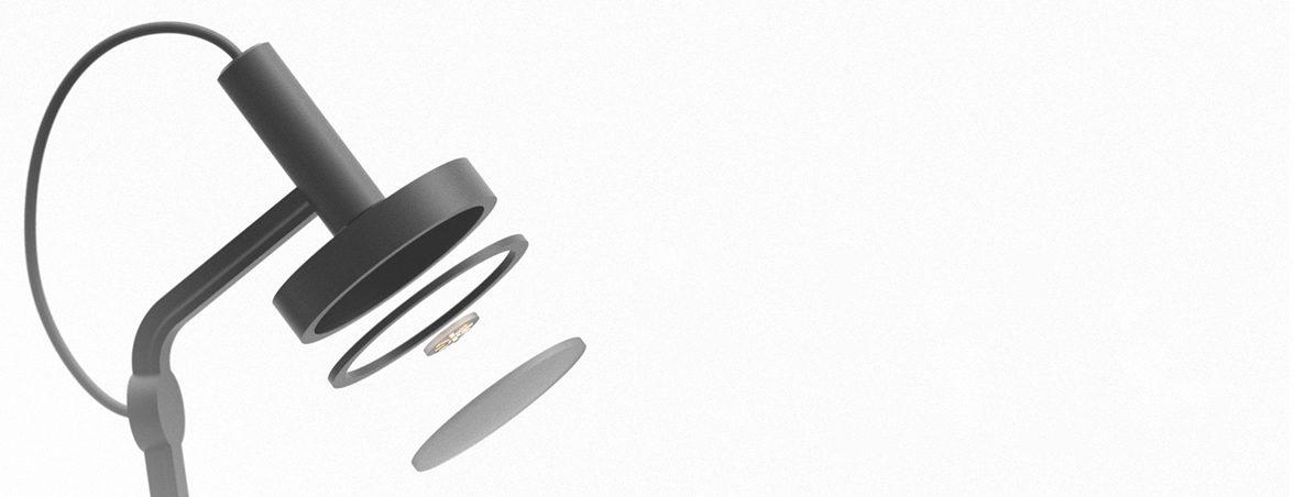 Lámpara de diseño Oma componentes | Muebles de oficina Spacio