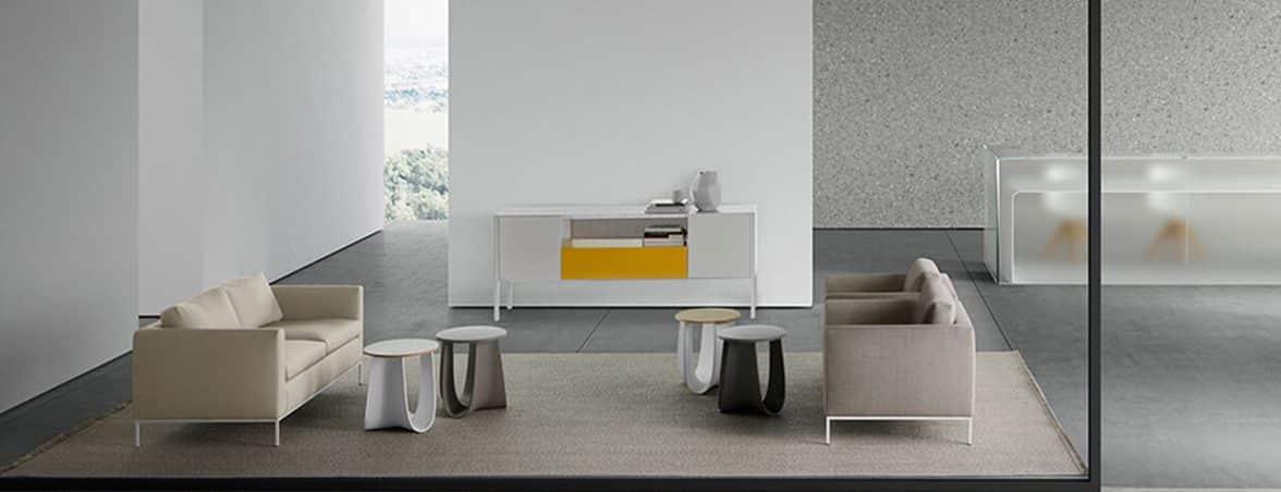 Mesa taburete ambiente | Muebles de oficina Spacio