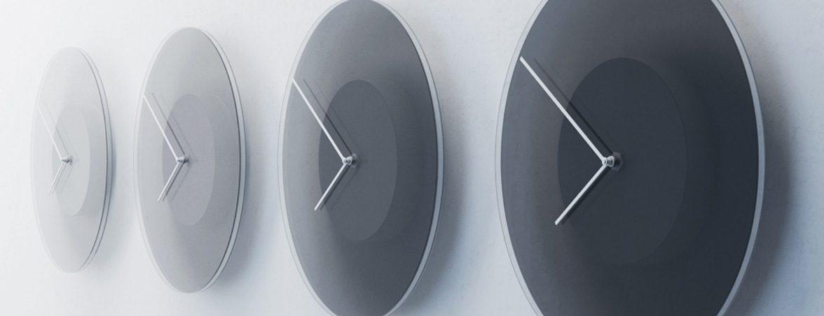 Relojes de oficina cambios color | Muebles de oficina Spacio