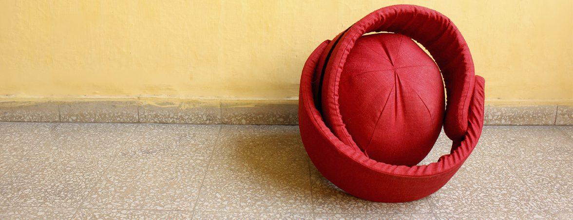 Sentarse con la silla prototipo | Muebles de oficina Spacio