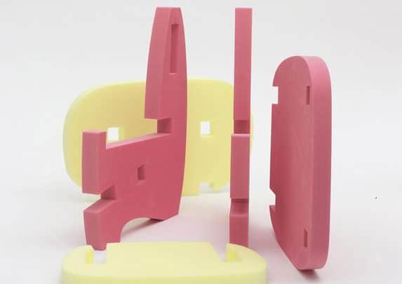Silla Mori desmontada | Muebles de oficina Spacio