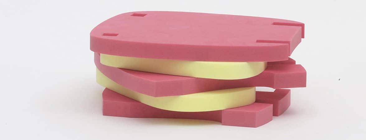 Silla Mori piezas colores | Muebles de oficina Spacio
