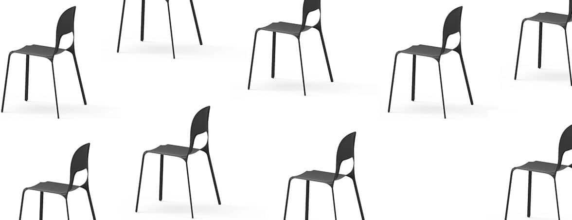 Silla carbono Mars múltiples | Muebles de oficina Spacio