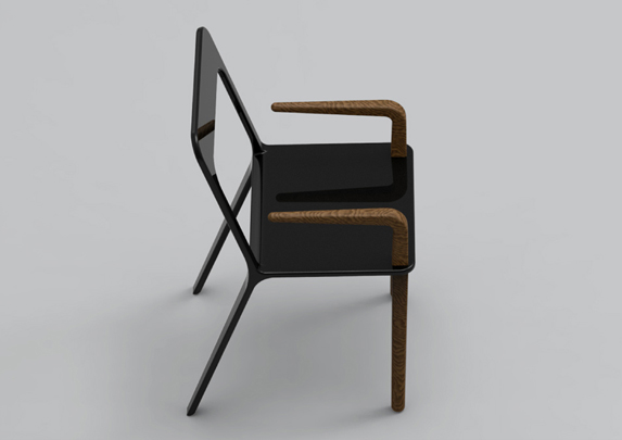 Silla con brazos cenital | Muebles de oficina Spacio