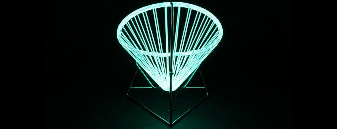 Silla con luz vista trasera | Muebles de oficina Spacio