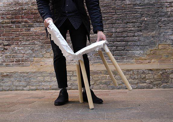 Silla confidente imperfecta ligera | Muebles de oficina Spacio