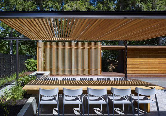 Silla de exterior Wing luz natural | Muebles de oficina Spacio