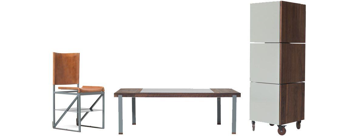 Silla escalera con mobiliario | Muebles de oficina Spacio