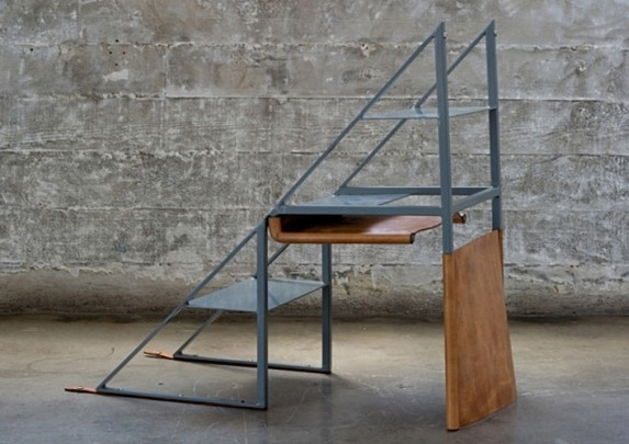 Silla escalera desplegada | Muebles de oficina Spacio