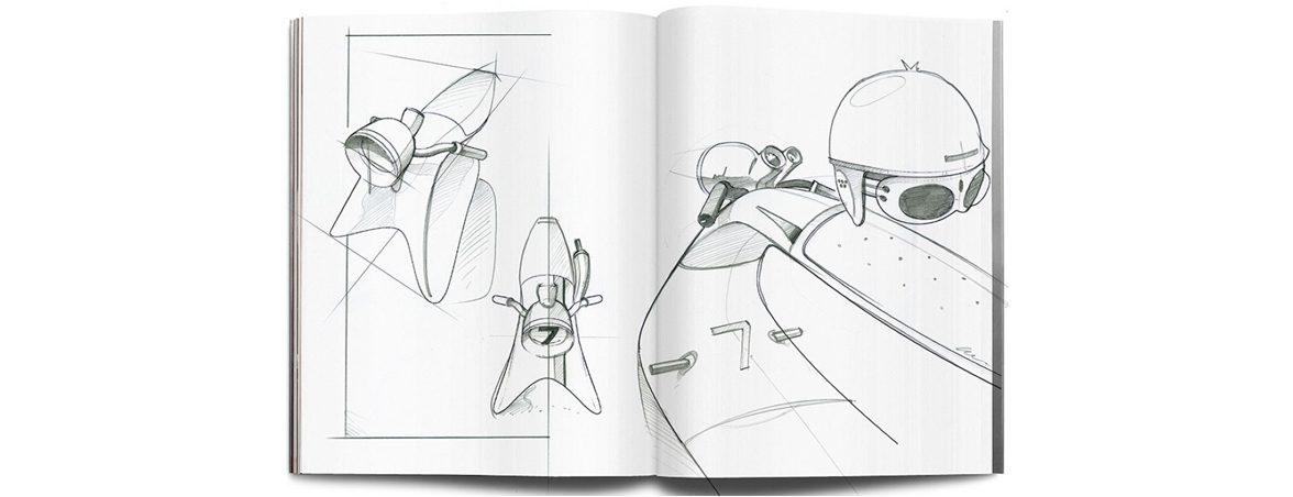 Silla infantil balancín boceto | Muebles de oficina Spacio