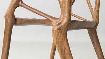Silla madera listado | Muebles de oficina Spacio
