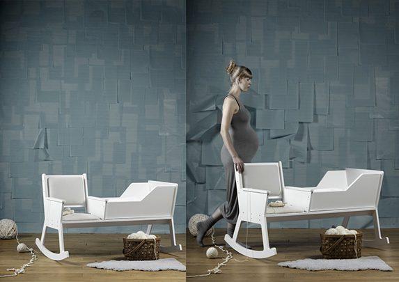 Silla mecedora Rockid montaje | Muebles de oficina Spacio