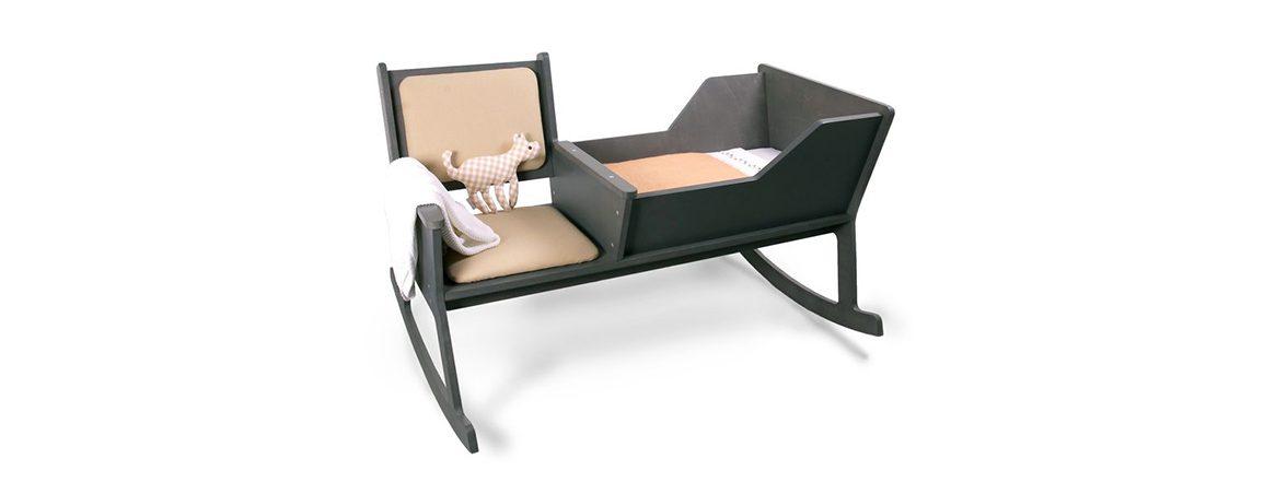 Silla mecedora Rockid negro | Muebles de oficina Spacio