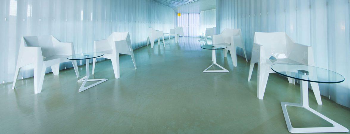 Silla minimalista sala | Muebles de oficina Spacio