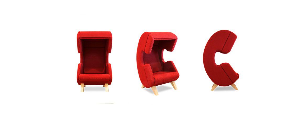 Silla para hablar por teléfono posiciones | Muebles de oficina Spacio