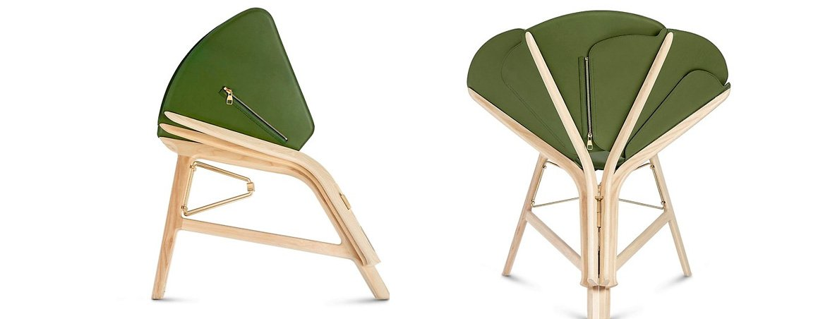 Sillas de diseño Louis Vuitton verde | Muebles de oficina Spacio