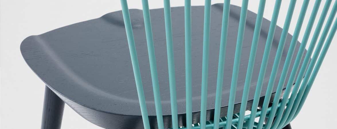 Sillas de edición limitada detalle asiento | Muebles de oficina Spacio
