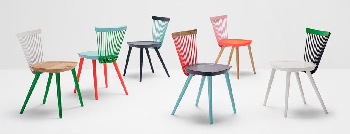 Sillas de edición limitada diferentes colores | Muebles de oficina Spacio