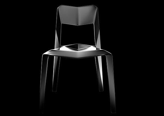 Sillas de plástico EDGEE | Muebles de oficina Spacio